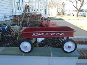 Vintage Radio Flyer Wagon Model 18 - 1950s