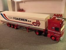 1/87 AWM Scania 420 P.Daemen B.V Intern. Transporte Holland NL Planen-SZ 53268