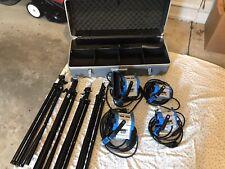 ARRI Light Kit with Case - 4 Lights with Tripods - 2 ARRI 300 Plus, 2 ARRI 150
