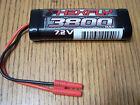 Redcat Racing Hexfly 7.2V 3800mah NiMH Battery Banana 4.0 Blackout HX-3800MH-B