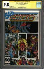 * CRISIS On Infinite EARTHS #11 CGC 9.8 SS George Perez (1330677015)