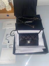 New Chanel Classic Mini Caviar Waist Belt Bag crossbody With Receipt 2021
