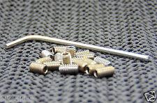Bike Pedal Pin Grub Screw Set (x16) inc Allen Key ( M4 x 7 mm) CC Evo MG1 Etc