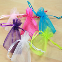 50 Organza Gift Bags Jewellery Packing Pouches For Wedding  Favours