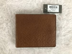 Fossil Coby Leather Billfold Flip ID Wallet ML3914B222