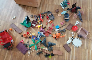 Playmobil, Konvolut, Betonmischer, Feurwehrsprungtuch
