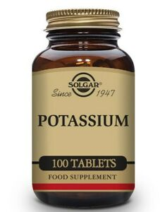 Solgar Potassium Gluconate 99mg Supports Nerve & Muscle Function -  100 tablets