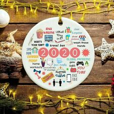2020 A Year To Remember Christmas Pandemic Ornaments 2020 Quarantine Xmas Gifts
