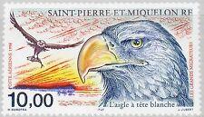 ST. PIERRE MIQUELON SPM 1998 757 C75 Bald Eagle Weißkopfseeadler Bird Vogel MNH