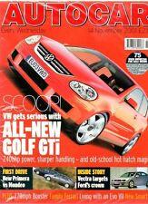 AUTOCAR - 14 November 2001 - Road Test: MCC Smart & Passion