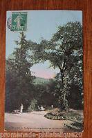 Carte postale ancienne Environs de VICHY - Entrée de la Grotte de l'Ardoisière