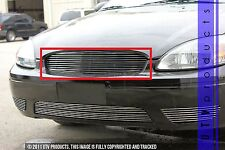 GTG 2004 - 2007 Ford Taurus 1PC Polished Upper Replacement Billet Grille Grill