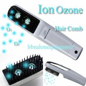 Dandruff control brush treatment UV Ultraviolet light health hair comb O2 Ion
