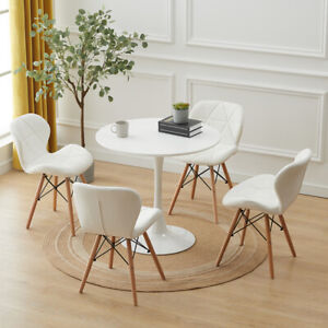 60/80CM Round Dining Table and 2 / 4 Chairs Optional Lounge Bar Office Home New