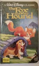 The Fox and the Hound VHS *RARE* Black Diamond Disney Original Animated Classic