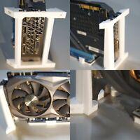 2 GPU 3d print Bridge Mining Rig Case Frame Bitcoin zCash Ethereum BTC