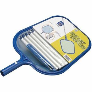 Deluxe Sectional Handle and Pool Skimmer