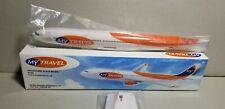 PREMIER PLANES MY TRAVEL AIRLINES A330-300 1:250 SCALE PLASTIC SNAPFIT MODEL