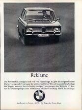 BMW-NeueKlasse-1967-Reklame-Werbung-genuine Advert-La publicité-nl-Versandhandel