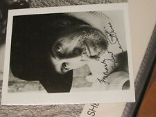 Vincent Price AUTOGRAPHED PHOTO PSA PRE CERTIFIED