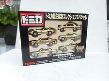 Tomica Box Set Chrome Gold 30th Anniversary Box Set 6 Models Tomy Car