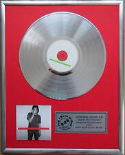 "New Order Get Ready CD/Cover gerahmt + 12"" Deko goldene Vinyl Schallplatte"