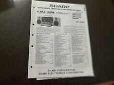 Original Service Manual Schaltplan Sharp GF-990G