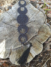 Phases of the Moon Bookmark - Free Standing Lace
