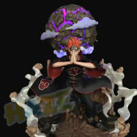 "Naruto Akatsuki Pain Pein Painted 15"" PVC Action Figure Statue Model Collection"