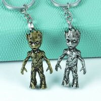 Marvel Avengers Guardians of the Galaxy Groot Alloy Key Chains Keychain Key Ring