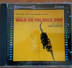 Elmer Bernstein : Walk On The Wild Side OST (CD 1991)  *NEW*  FREEUK24-HRPOST!!