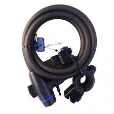 Oxford Lock Cable Casco Para Bicicleta Bici 1.8 M x 12 mm Negro OF246 T