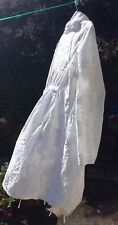 Artistic A-Z Designer Medieval Japanese Balloon White Party Coat/Dress Sz12 £450