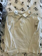 New listing childrens place girls white uniform top size M(7/8)