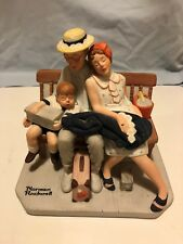 """Norman Rockwell Figurine 12 """"Home from Vacation"""" porcelain series ll"""