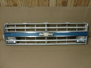 85-87 Chevy Pickup Truck Square Body Silverado Center Front Grille Grill