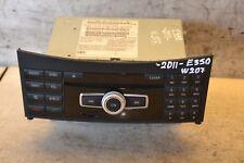 Mercedes E Class Head Command Unit A2129006313 W207 SAT NAV Unit 2011