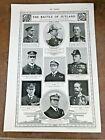 ww1 full page print - naval leaders ( battle of jutland )