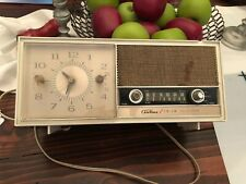 Vintage Solid State Airline Electronic Equipment Montgomery Ward Clock Radio