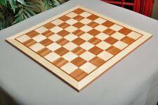 """Maple & Mahogany Wooden Chess Board - 2.25"""""""