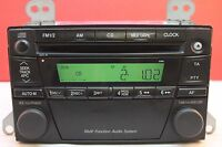 MAZDA PREMACY CD RADIO PLAYER STEREO DECODED 2196 2000 2001 2002 2002 2003 2004