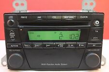 MAZDA PREMACY CD RADIO PLAYER STEREO DECODED 2196 2000 2001 2002 2002 2003 2004