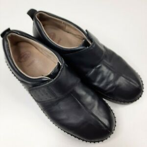 Homyped Womens Shoes Size AU 8 Beyonce Black Leather Orthotic Friendly Work