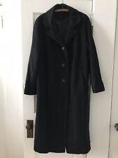 Vintage Carol Brent 100% Cashmere Coat Black