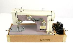 Necchi Supernova Julia PURPLE Vintage Sewing Machine Manuals, Foot Pedal- RARE!