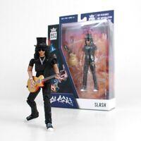 Slash Guns N' Roses Figure for Collection Action 5 1/8in Guitar Original