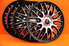 """16"""" Citroen C4,C5,etc..Wheel Trims / Covers, Hub Caps,Quantity 4,black&silver"""