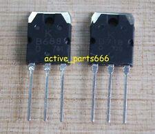 5Pairs(10pcs) New 2SB688 + 2SD718 KEC Transistor B688 & D718