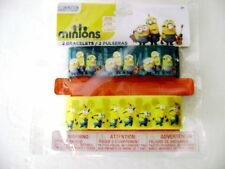 Minions Movie Bracelet Rubber Wrist Bands ~ Officially Licensed
