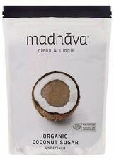 Madhava Organic Coconut Sugar Natural Sugar Large 16Oz- 454g-Expires 01/16/2022